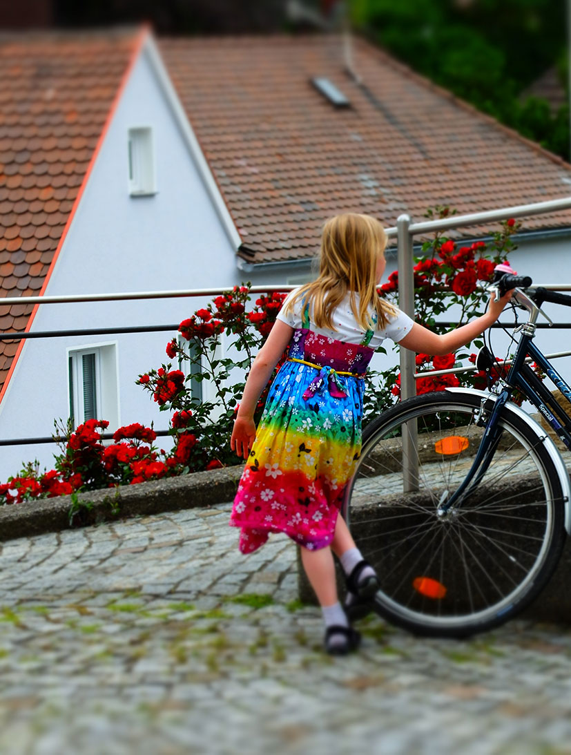 A Girl With A Bicycle