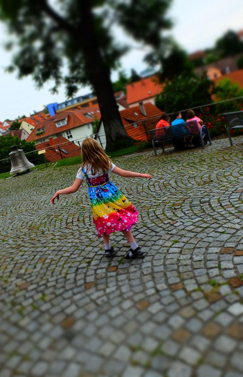A Dancing Girl