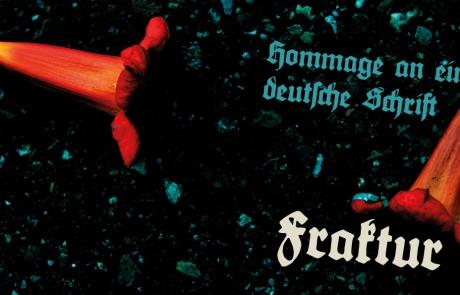 Fraktur-Deutsche Schrift