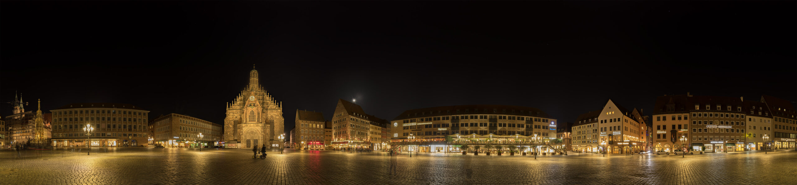 Panorama of the Historic City in Nuremberg